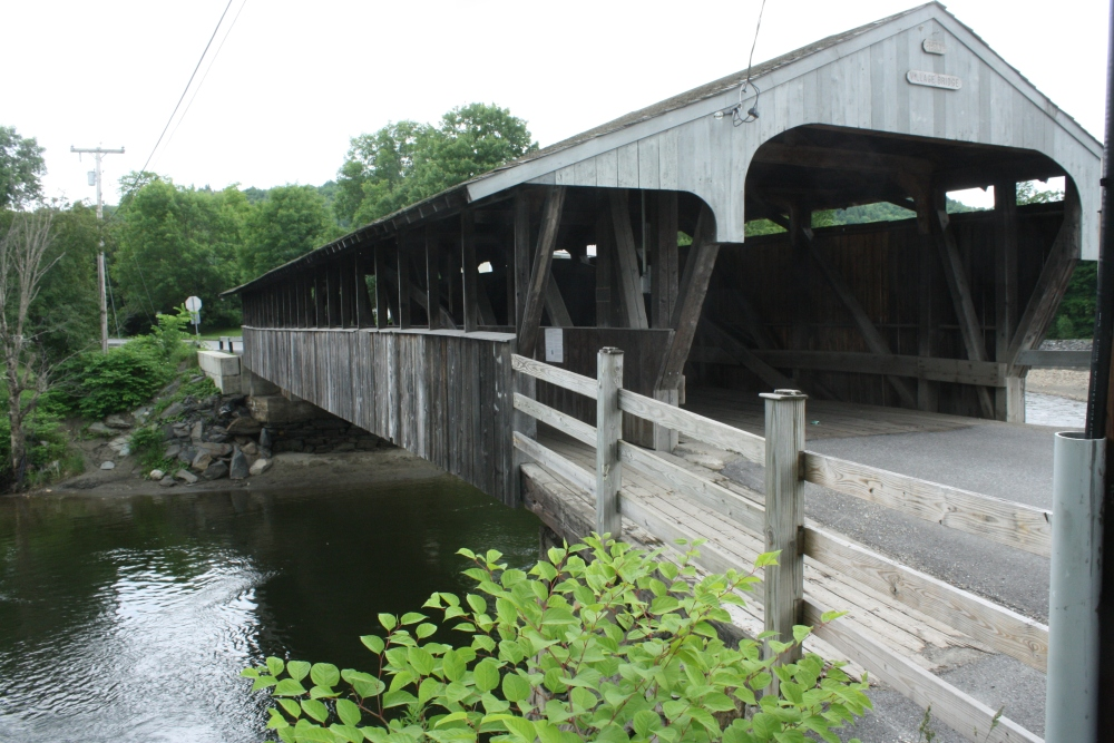 Vermont's Covered Bridges the Past  (3/6)