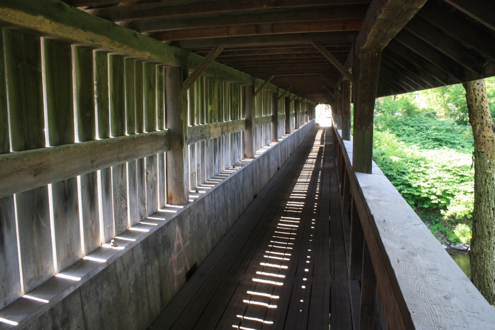 Vermont's Covered Bridges the Past  (2/6)