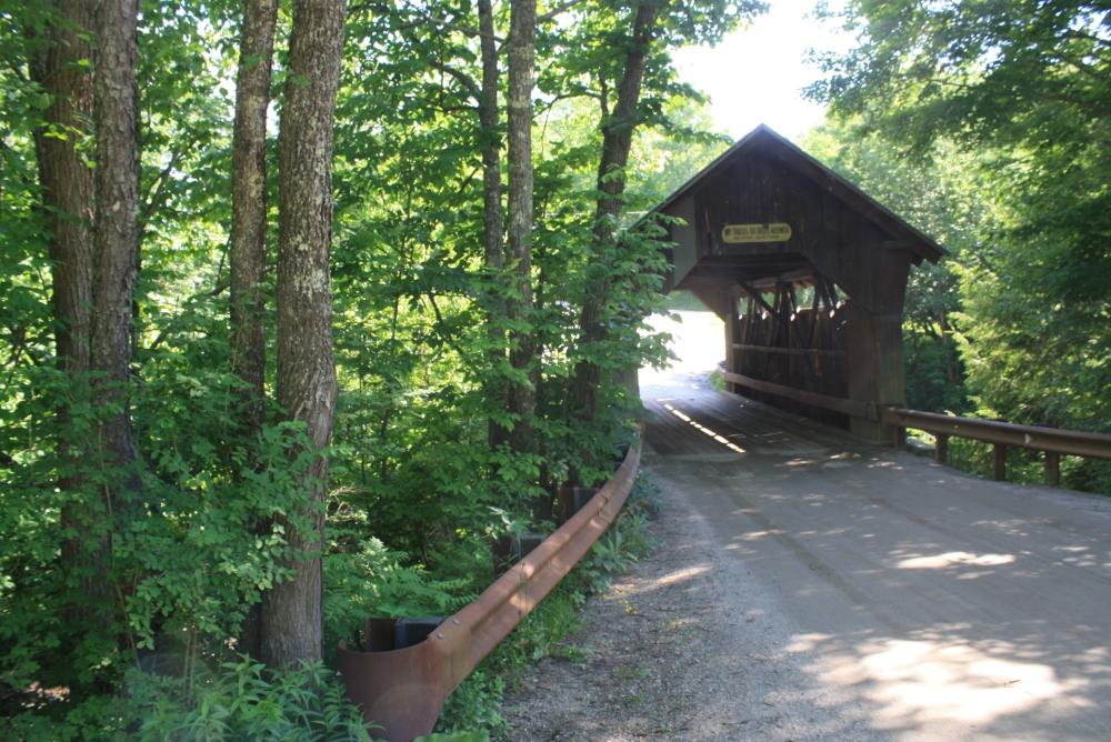 Vermont's Covered Bridges the Past  (4/6)