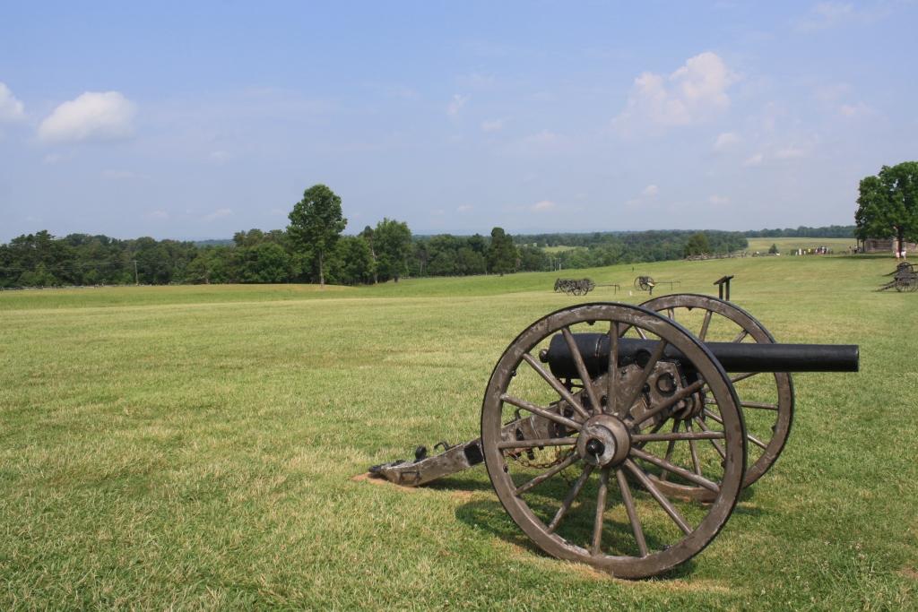 The First Battle of Manassas Battlefield