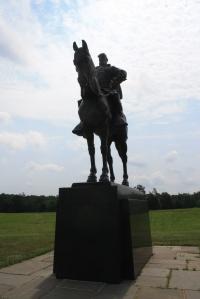 """General Thomas """"Stonewall"""" Jackson's monument."""