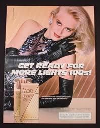 1980s print media ad