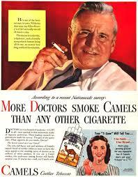 1940s Cigarette Ad