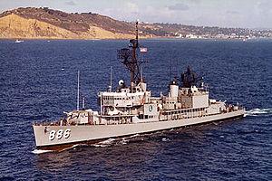 USS Orleck at sea