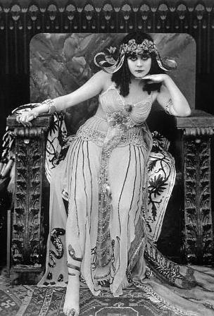 theda bera as cleopatra
